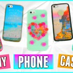 5 DIY Phone Cases: Tumblr Inspired!! ♡ (Cute, Easy, & Affordable Ideas) | Jessica Reid