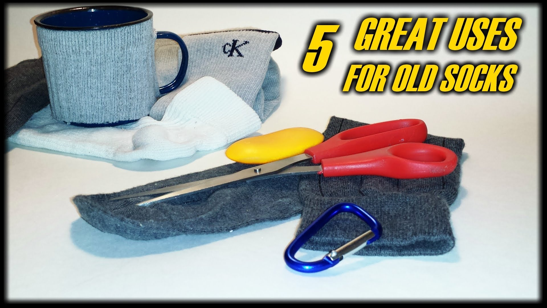 "5 Great Uses For Old Socks! – ""Tip Of The Week"" E48"