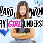7 Awkward Moments Every Girl Understands! | Maybaby