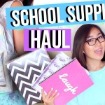 Back to School Supplies Haul + Giveaway 2015 | JENerationDIY