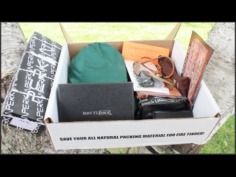 BattlBox Mission 5 — Bushcraft Survival Kit | Manly Subscription Box Unboxing