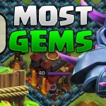 Biggest GEMMER In Clash Of Clans! – $10,000+ Worth Of Gems Used! – FULLY MAXED BASE!