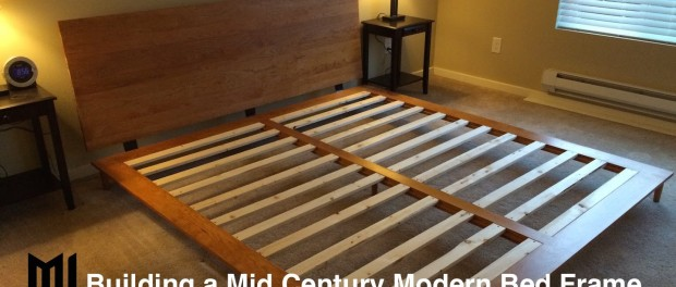 Mid Century Modern Bed Frame Image Of Mid Century Modern