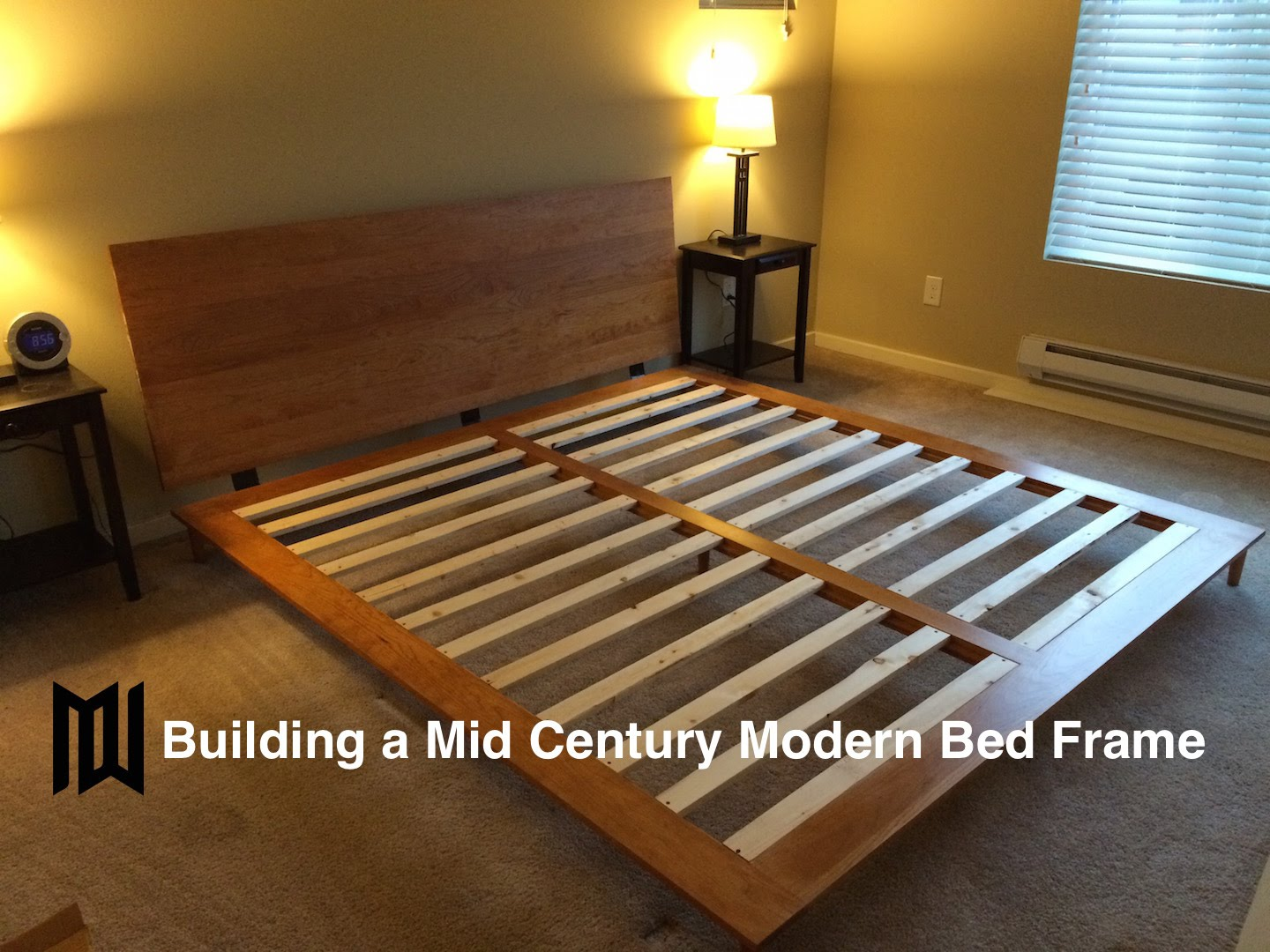 Amazing Build A Mid Century Modern Bedframe