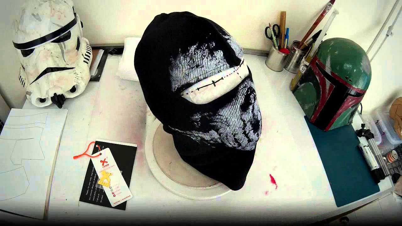 Call of Duty Ghosts Mask (not DIY project) | diy.fyi