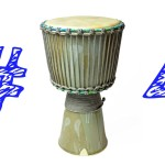 Ceramic Djembe Heading Part 4: Mounting the Head – Pottery & Music