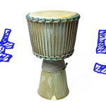 Ceramic Djembe Heading Part 5: Tightening the Head – Pottery & Music