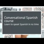 Conversational Spanish 20: Learn Spanish in no time! Conclusions.