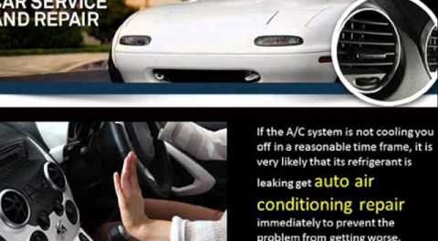 Determine Early On If Your Car Needs Auto Air Conditioning Repair