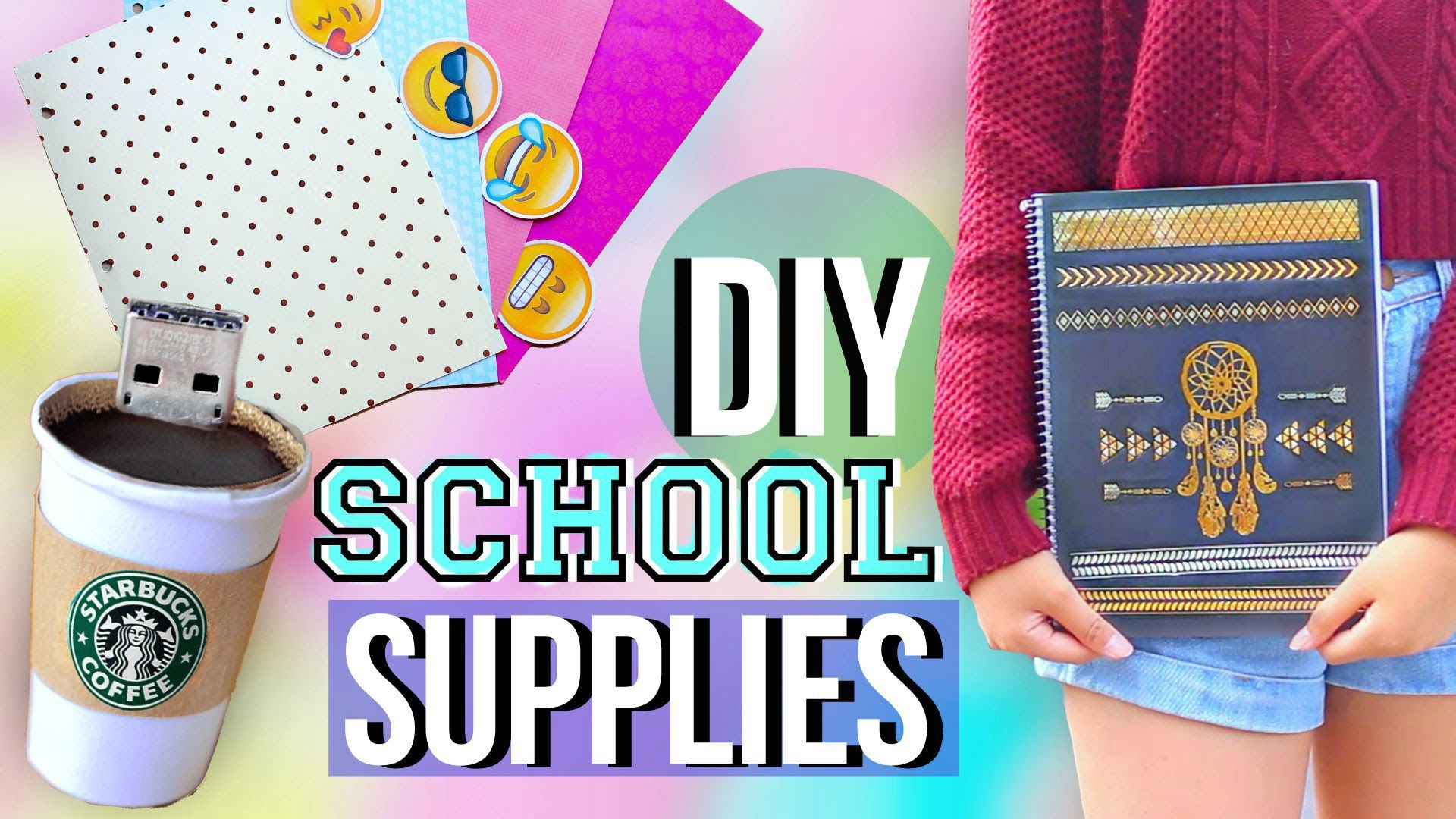 DIY Back to School Supplies and Organization ...