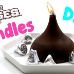 DIY Candles: How To Make Hershey Kiss Candles – Easy Room Decor & Craft Idea