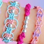 DIY friendship bracelets! 4 EASY stackable arm candy projects! + GIVEAWAY