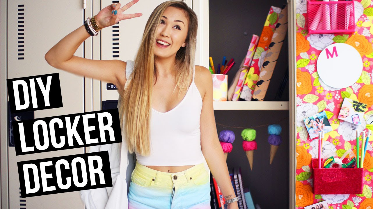 Diy Locker Decorations For Back To School 2015 Laurdiy
