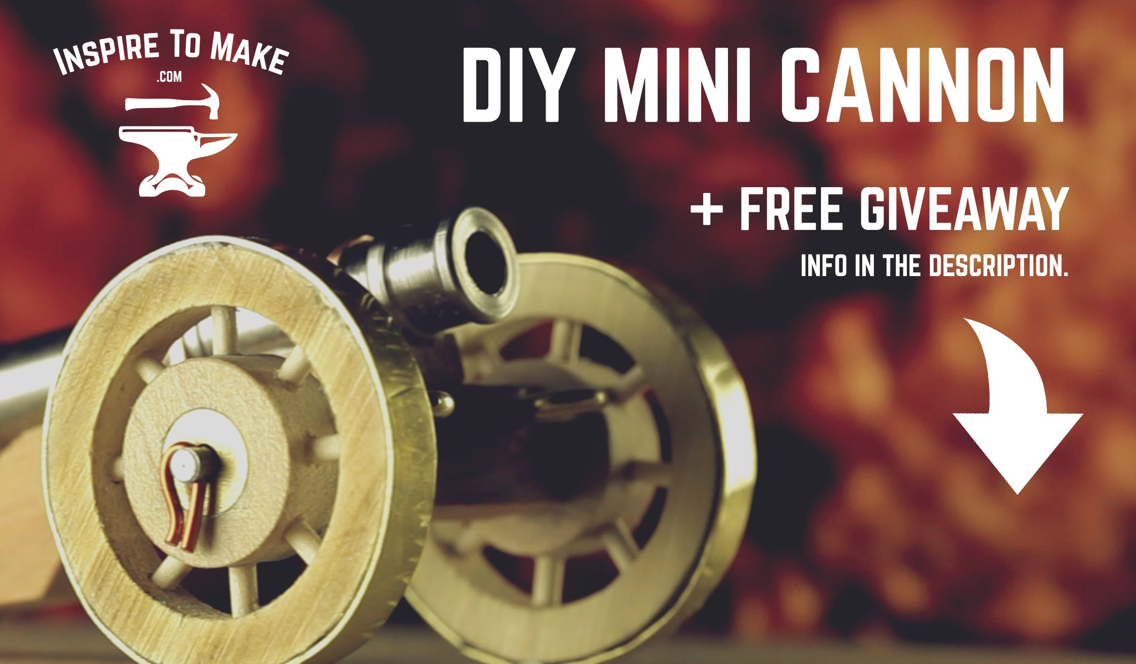 DIY Projects – Mini Cannon + Giveaway