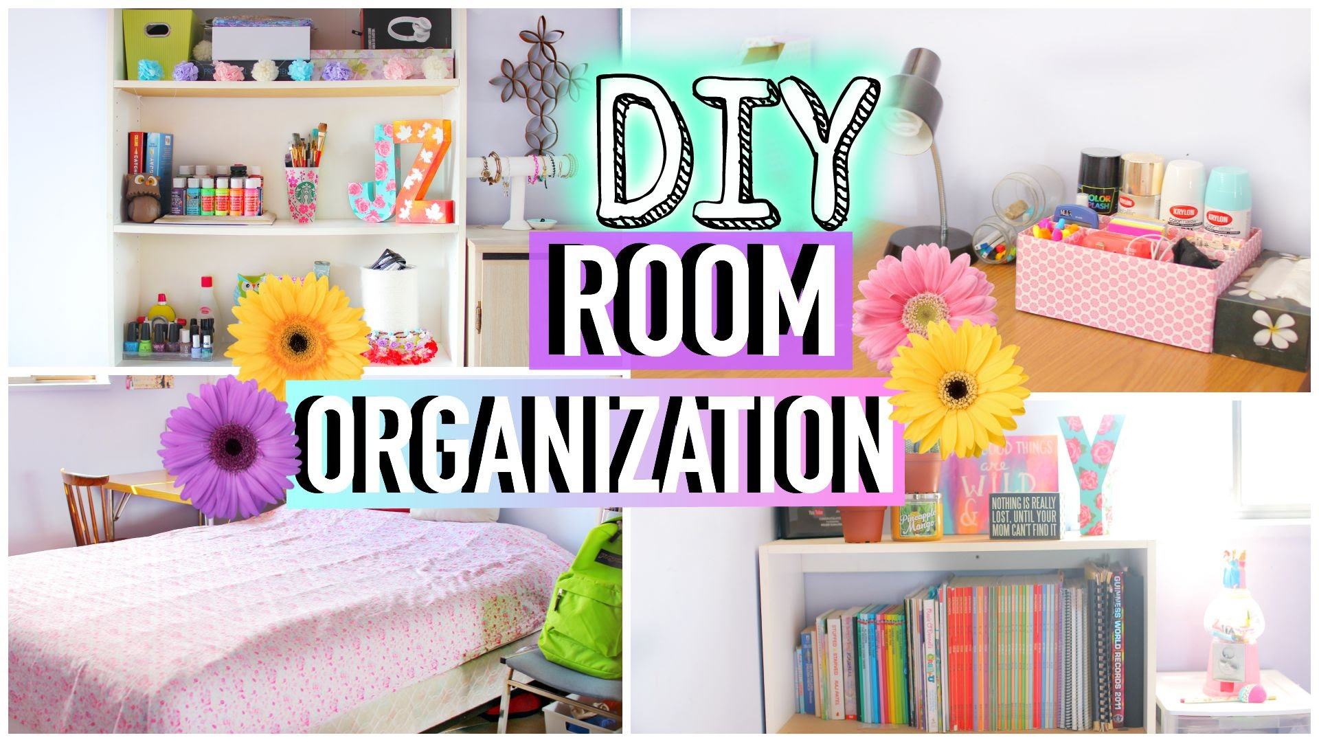 Diy room organization and storage ideas how to clean for Room organization
