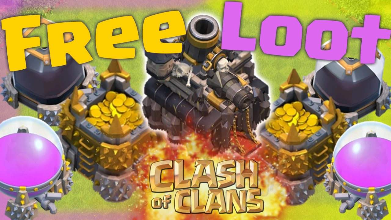 clash of clans resources for free