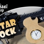 Guitar Clock – X-Carve CNC Project and Fold-Up Workstation Update