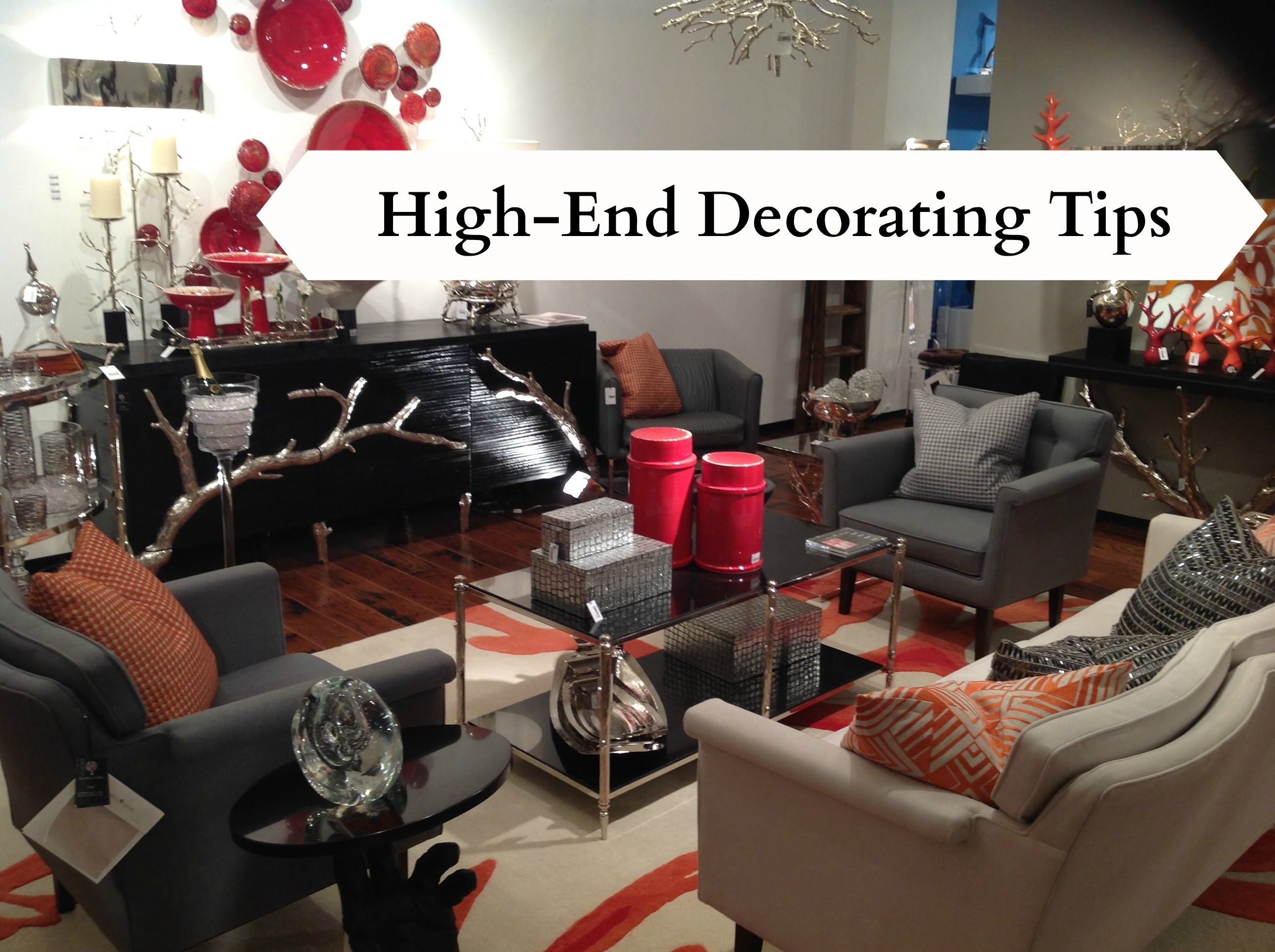 High End Decorating Tips