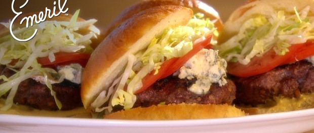 Home-Ground Burgers with Bacon, Gorgonzola, and Fresh Thyme – Emeril ...