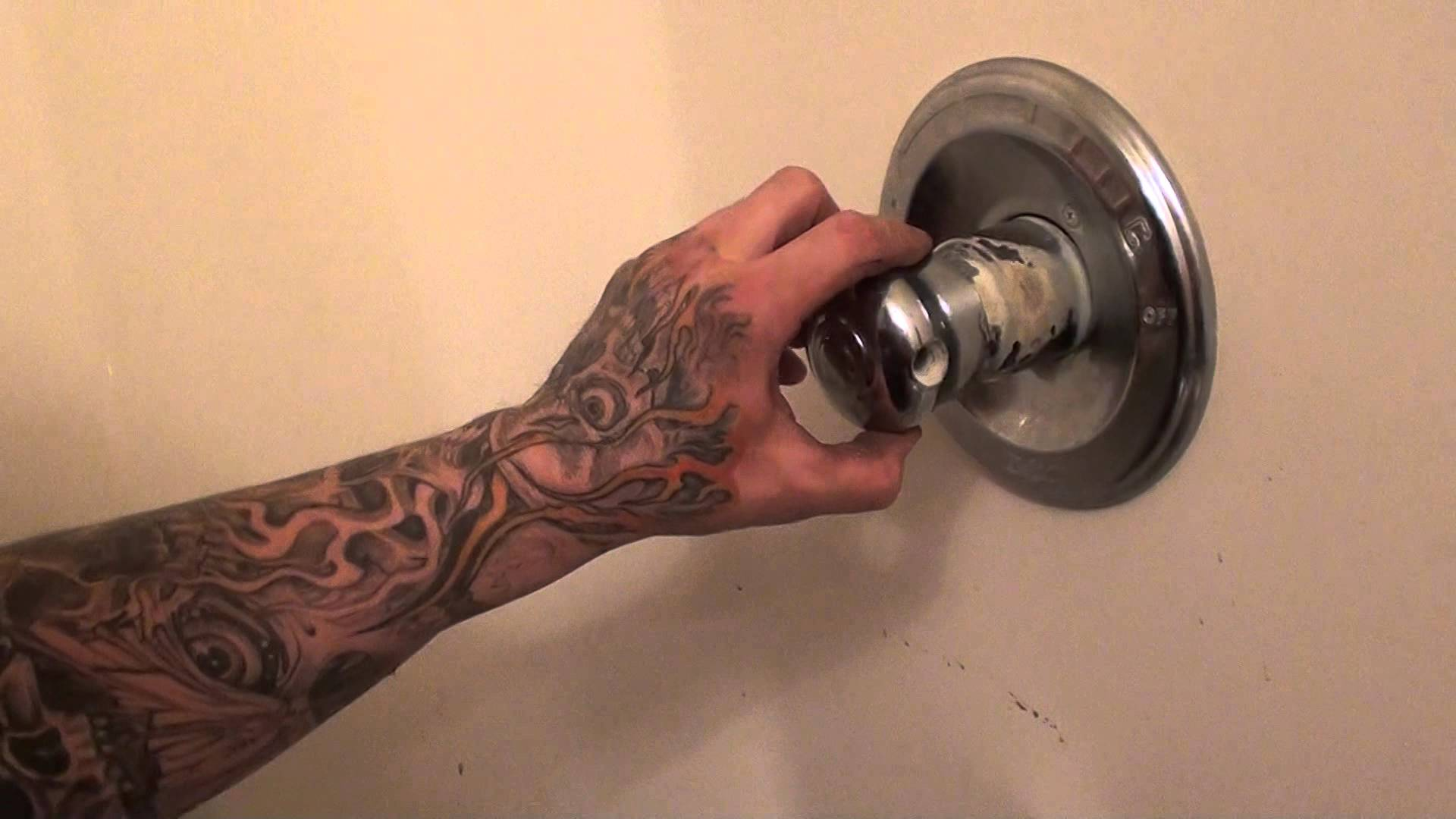 how to fix a leaking delta monitor tub shower faucet tutorial | diy.fyi