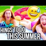 How To Have The Best Summer | Things to do AT HOME!