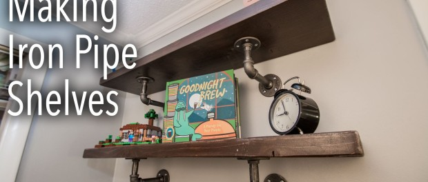 diy pallet iron pipe. How To Make Industrial Iron Pipe Shelves Diy Pallet