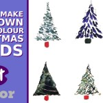How to Make Your Own Watercolour Christmas Cards