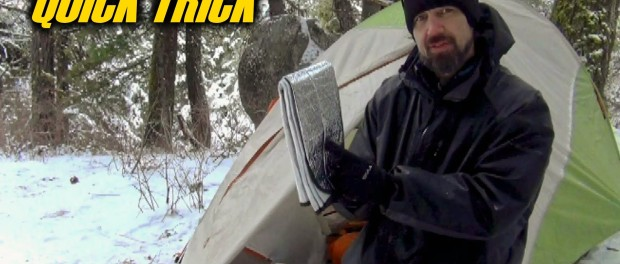 How To Stay Warm With A Car Sunshade – Quick Trick