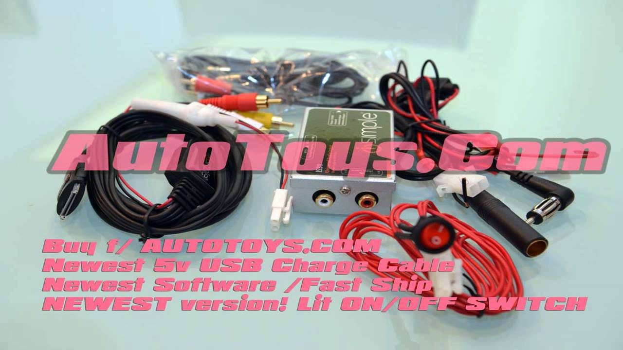 Installation of GROM Bluetooth iPhone Android USB Car Kit into VW