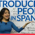 Introducing people in Spanish