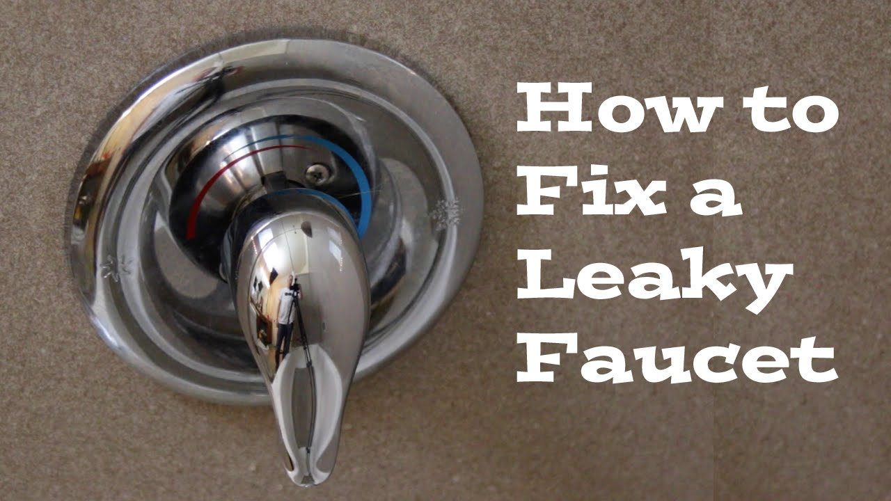 Leaky bathtub faucet repair | diy.fyi