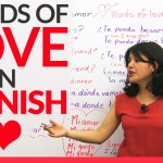 Learn Words of LOVE in Spanish ❤ ❤ ❤