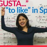 """Me gusta – """"to like"""" in Spanish"""