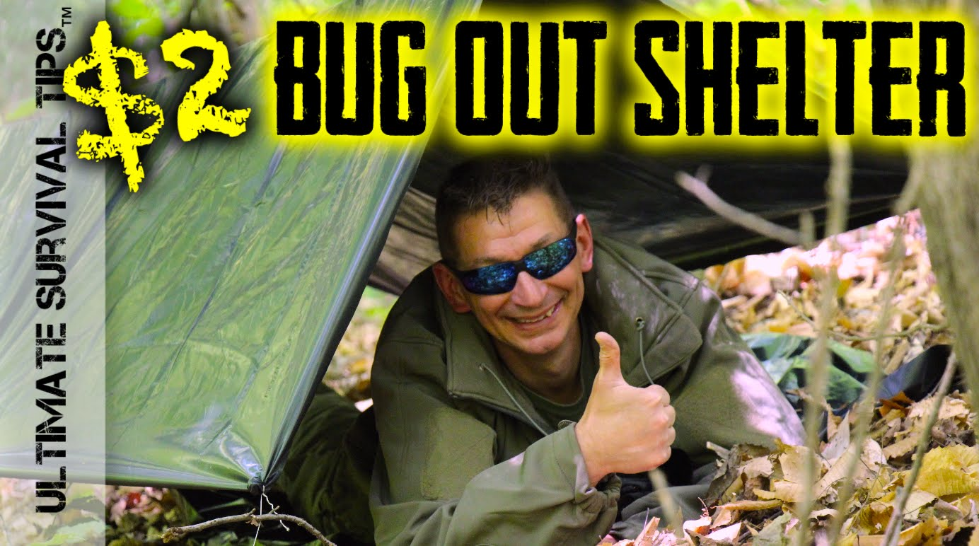 NEW! $2 Bug Out / EDC / Survival Shelter – Transform a Garbage Bag into a Life Saving Shelter