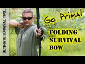 NEW! BEST Survival / Hunting / Bug Out Bow EVER? Go Primal – Folding Long Bow – Archery / Bug Out