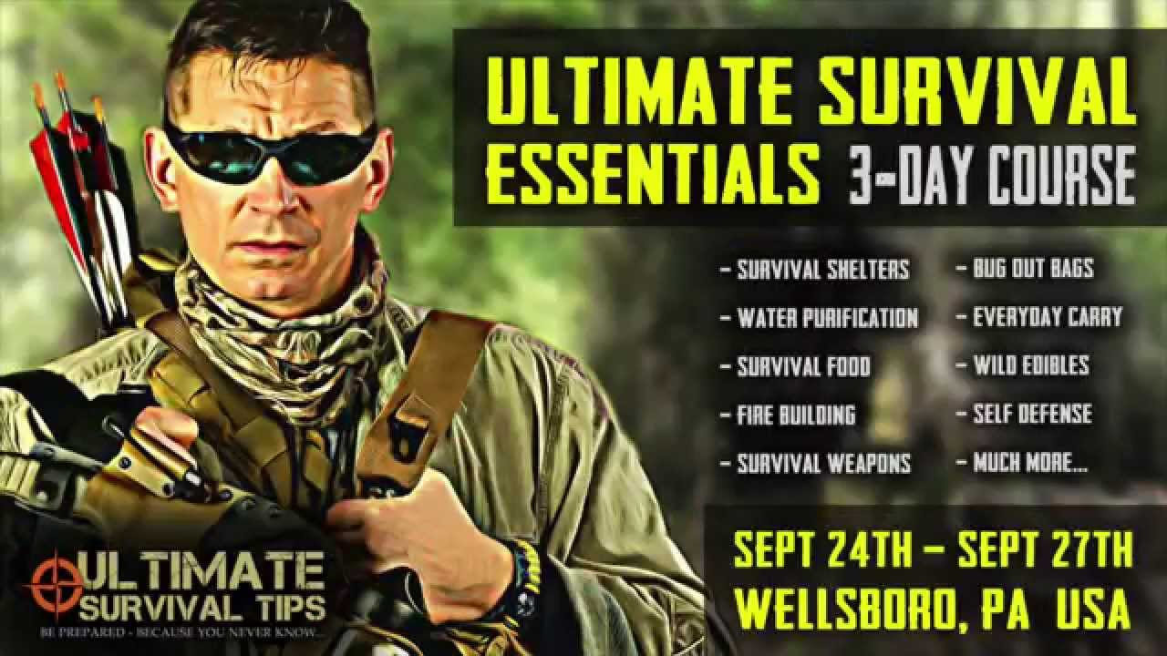 NEW! Survival / Bug Out  / Bushcraft / Self Defense / Emergency Disaster Training – Ultimate Best HD