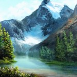 Paint with Kevin Hill – Canadian Glacier