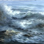 Paint with Kevin Hill – Close-up Ocean Wave