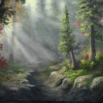 Paint with Kevin Hill – Deep Forest Riverbed