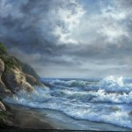 Paint with Kevin Hill – Rocky Ocean Shore