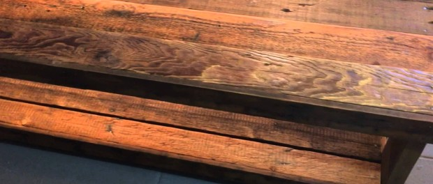 Reclaimed wood tv stand table for Reclaimed wood sources