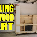 Rolling Plywood Cart For A Woodshop – 207