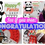 See if you won!! Congratulations Winners!! :)