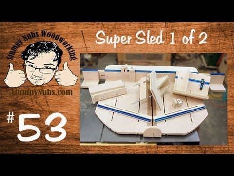 Astonishing Snw53 Super Duper Homemade Table Saw Crosscut Sled Part 1 Download Free Architecture Designs Scobabritishbridgeorg