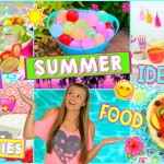 Summer Activities, Refreshing Snacks & Drinks, + DIYS! | What to Do When You're Bored This Summer!
