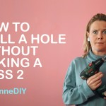 SuzelleDIY – How To Drill a Hole Without Making a Mess 2