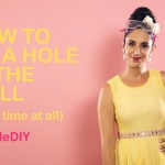 SuzelleDIY – How to Fix a Hole in the Wall