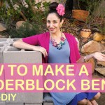 SuzelleDIY – How to Make a Cinderblock Bench