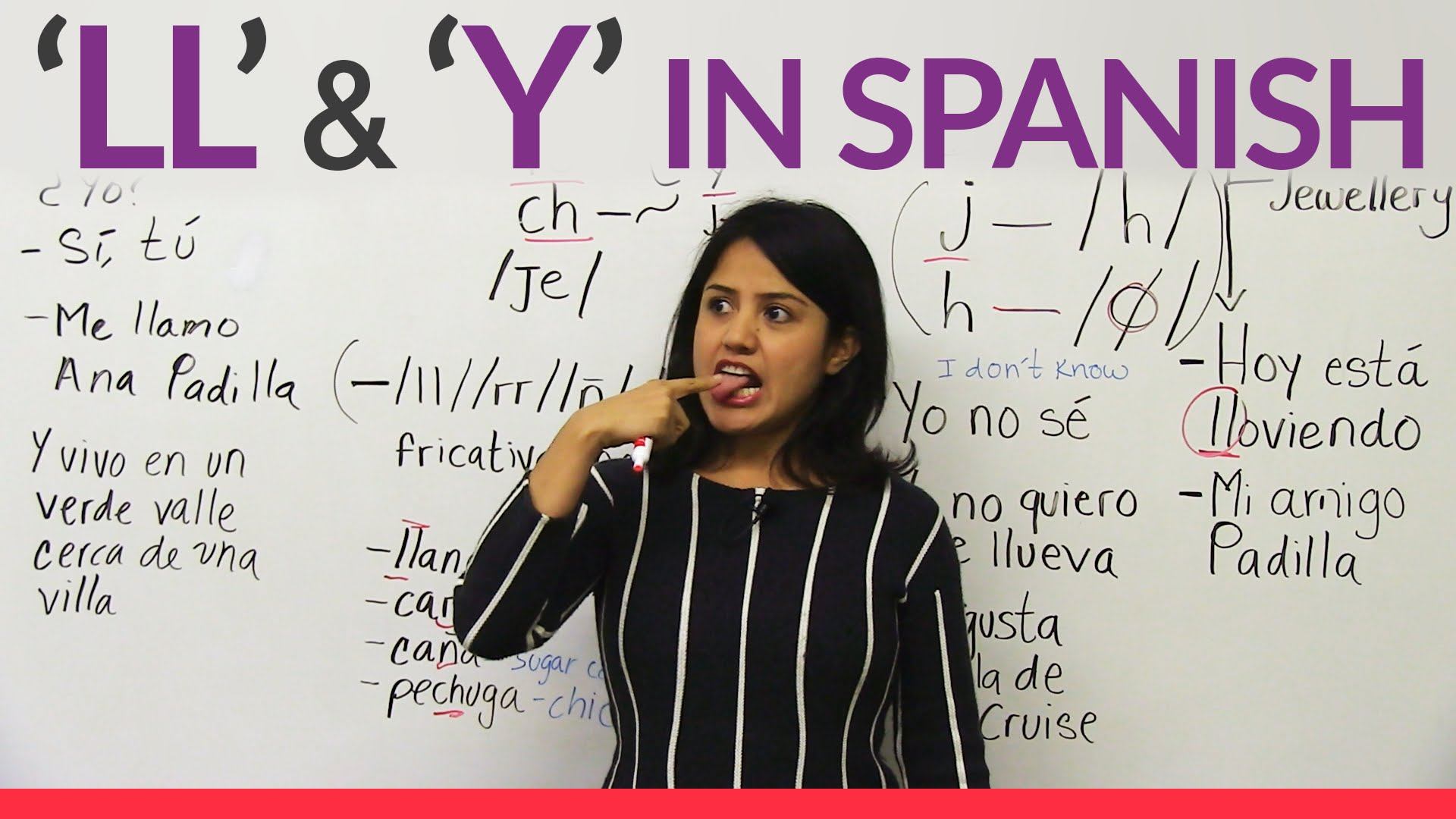 The letters LL and Y in Spanish | diy.fyi