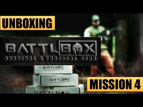Unboxing BattlBox Mission 4 – Tactical, Survival, Knives & Everyday Carry Gear